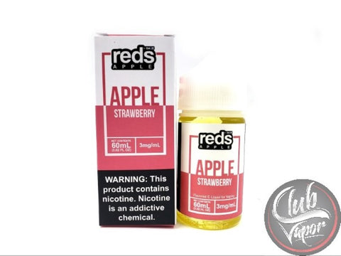 Strawberry Red's Apple E-Juice by 7 Daze 60mL