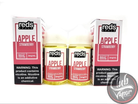 Strawberry Red's Apple E-Juice by 7 Daze 120mL