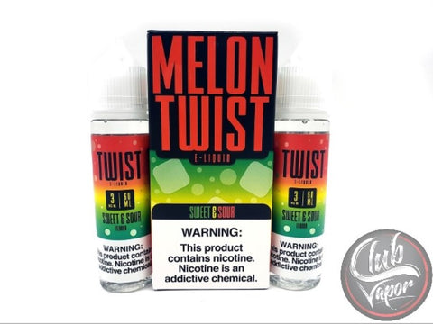 Sweet & Sour E-Liquid by Melon Twist 120mL