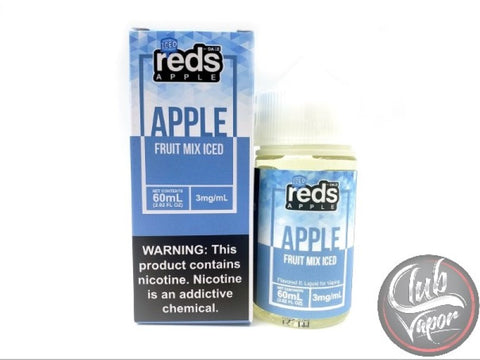 Fruit Mix Red's Apple ICED E-Juice by 7 Daze 60mL