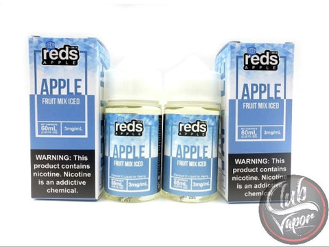 Fruit Mix Red's Apple ICED E-Juice by 7 Daze 120mL