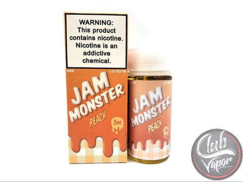 Peach E-Liquid by Jam Monster Liquids 100mL