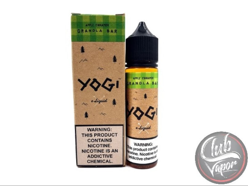 Apple Cinnamon Granola Bar 60mL E-Liquid by YOGI