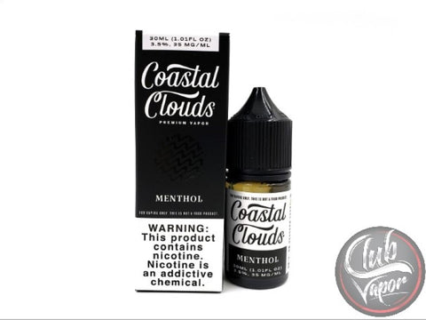 Menthol Salt E-Liquid by Coastal Clouds Salts 30mL