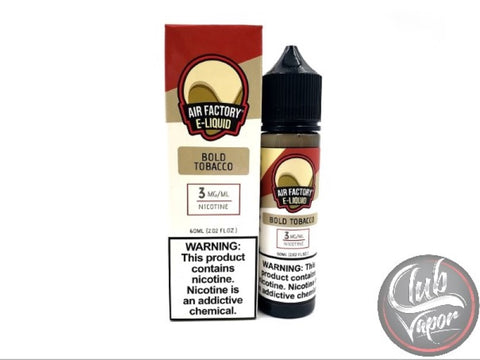 Bold Tobacco 60mL E-Liquid by Air Factory