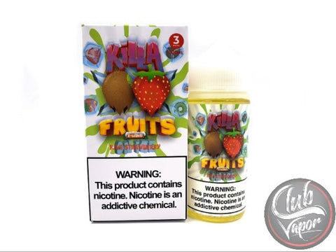 Ice Kiwi Strawberry 100mL E-Liquid by Killa Fruits
