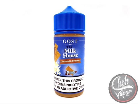 Milk House Cinnamon Cracker 100mL E-Liquid by GOST Vapor