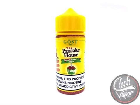 The Pancake House Caramelized Apple E-Liquid by GOST Vapor 100mL