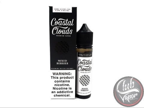 Mixed Berries 60mL E-Liquid by Coastal Clouds