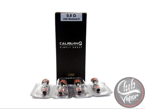 Caliburn G Replacement Coils by Uwell