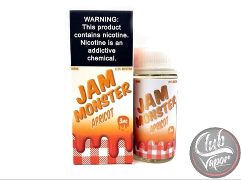 Apricot Jam E-Liquid by Jam Monster Liquids 100mL