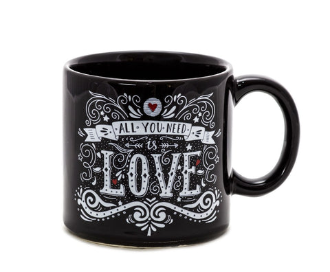 Caneca All You Need is Love 300 ml.