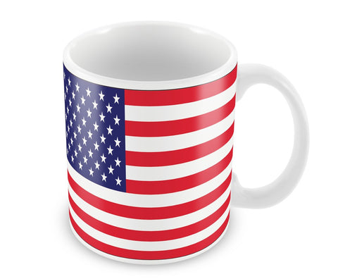 Caneca de porcelana USA 300 ml.