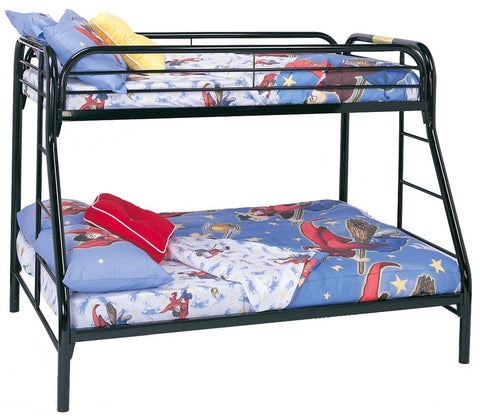 Fordham Twin Over Full Bunk Bed in Black