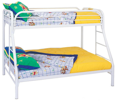 Fordham Twin Over Full Bunk Bed in White