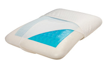 Hypoallergenic SleepSoft Memory Foam Gel Bunk Bed Pillow - M-36033