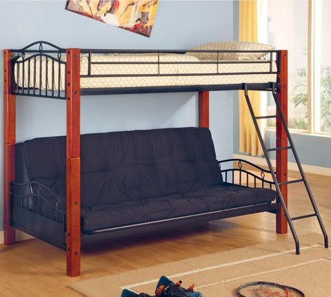 Haskell Twin over Futon Bunk Bed