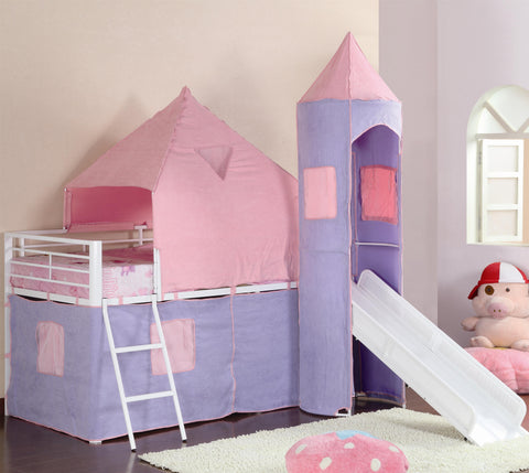 Majestic Castle Twin Loft Bed
