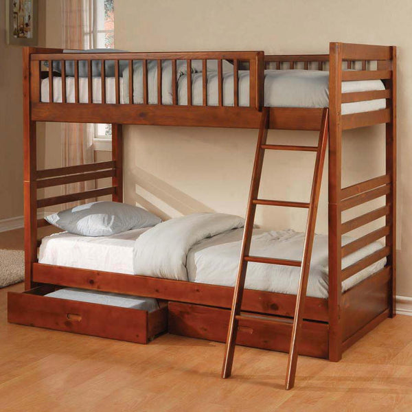 Ogletown Twin Over Twin Bunk Bed