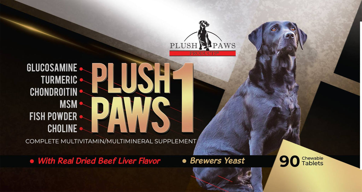 Why Plushpaws1 Complete Multivitamin Multi-Mineral Daily Dog supplement is best for your furry friend