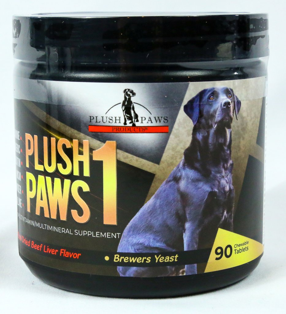 Plush Paws Products Offers the Best Dog Multivitamins