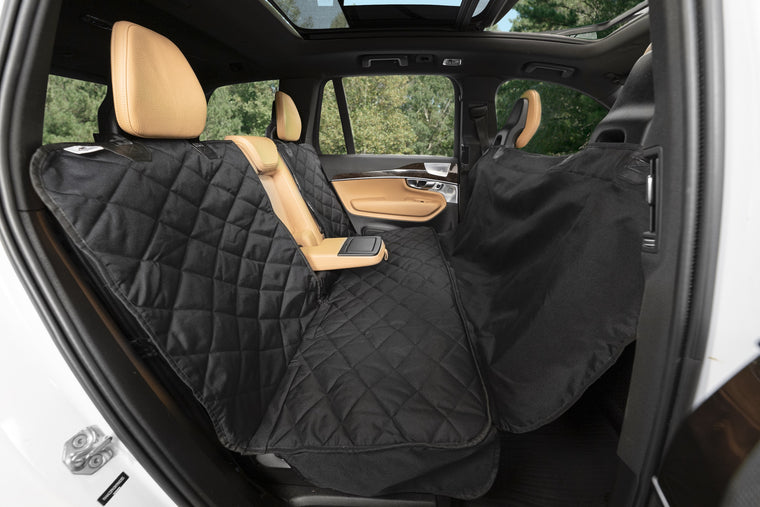 Plush Paws Premium Convertible Rear Pet Seat Cover