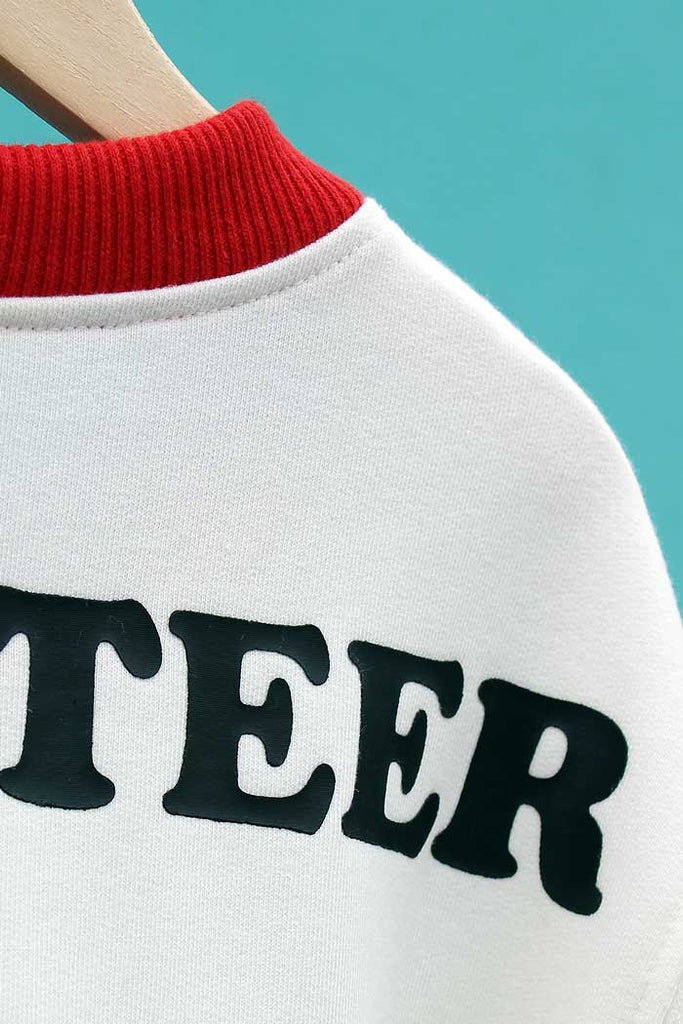 Santa's Volunteer Sweatshirt - Bam Kids