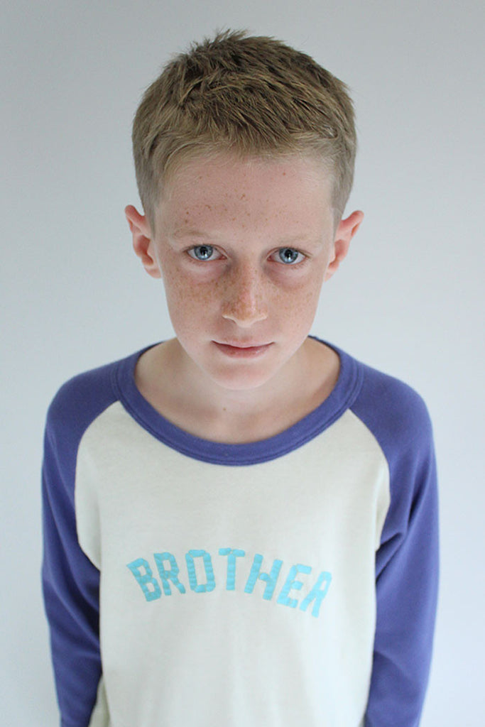 Brother Vintage Raglan Tee - Bam Kids
