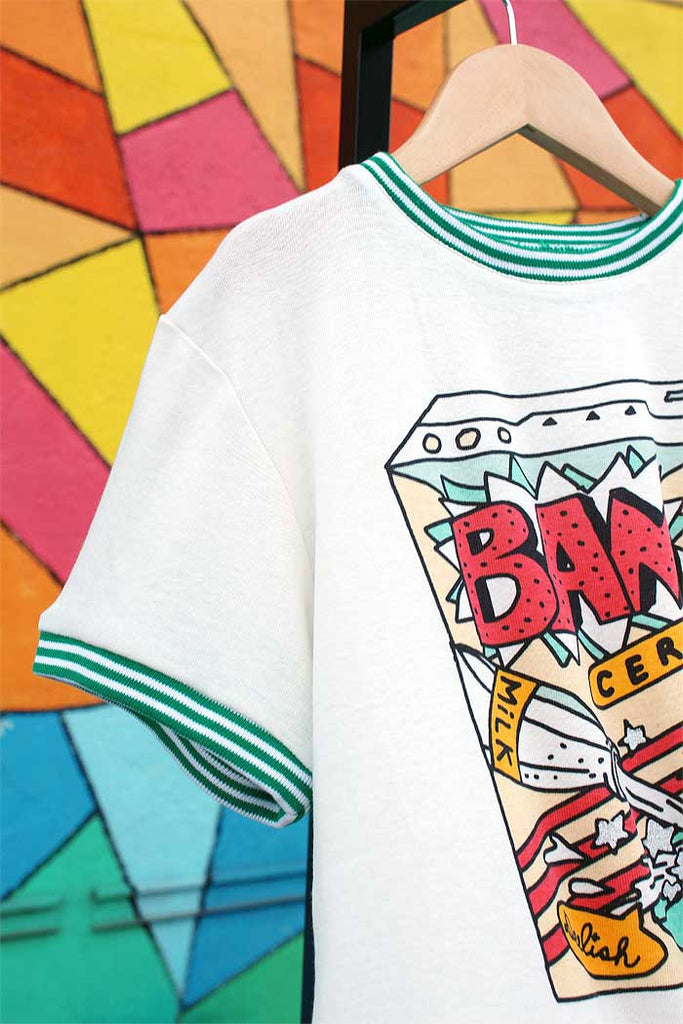 Atheletic Vintage Tee | Cereal - Bam Kids