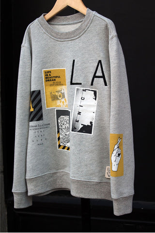 Photo Collage Sweatshirt