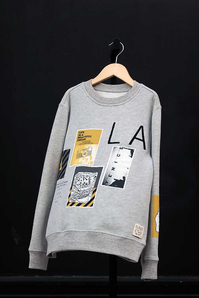Photo Collage Sweatshirt - Bam Kids