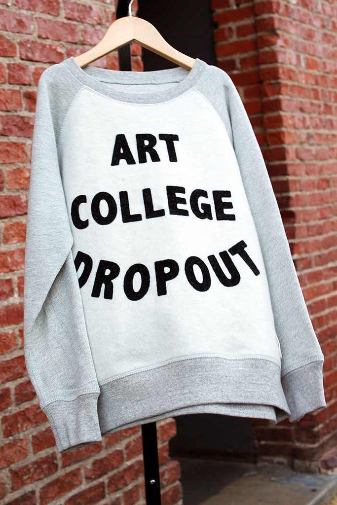 Art College Dropout Sweatshirt - Bam Kids