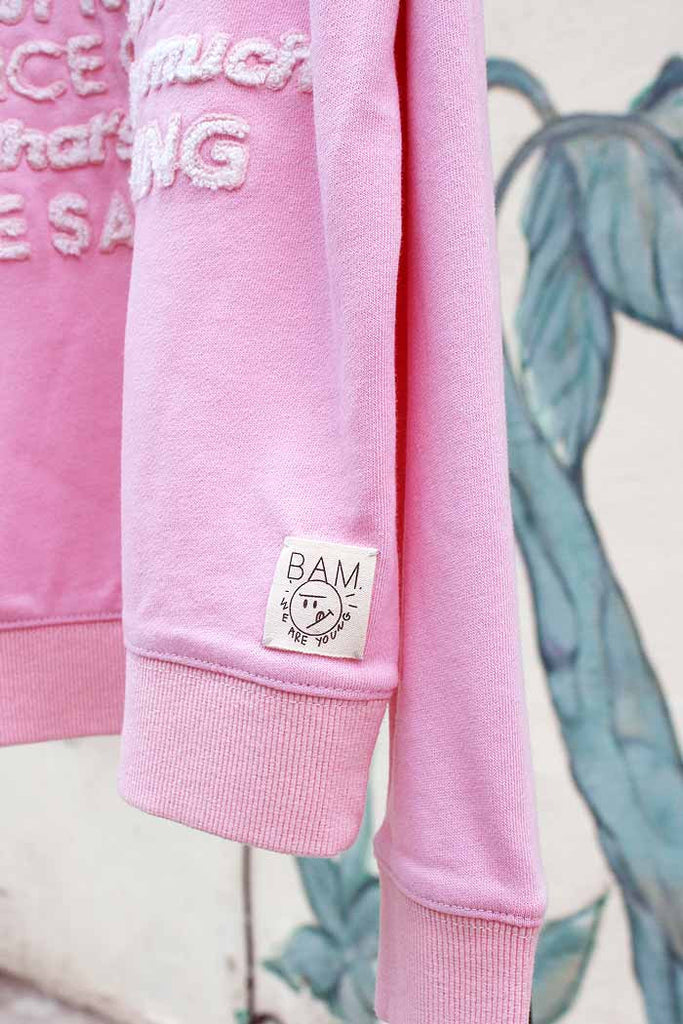 Happiness Patch Sweatshirt - Bam Kids