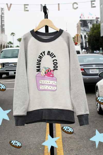 Naughty But Cool Sweatshirt - Bam Kids