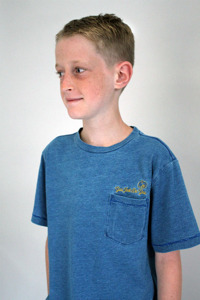 Normal Is Boring Embroidery Tee - Bam Kids