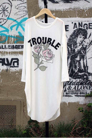 Trouble T-Shirt Dress