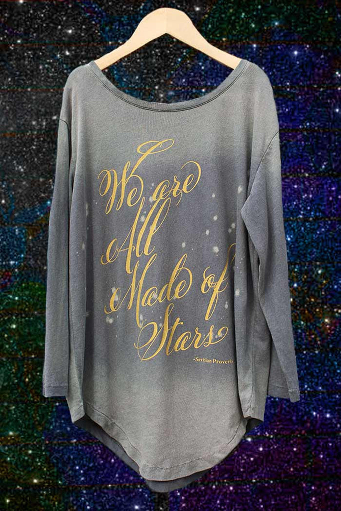We Are All Made of Stars Tee - Bam Kids