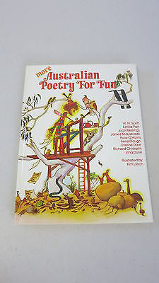 More Australian Poetry for Fun, 1st, Large Hard Cover, Kim Lynch Pixie O'Harris