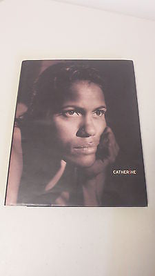 Catherine by Basquali, SIGNED, 1st Ed, Large HC DJ, Cathy Freeman, Portrait
