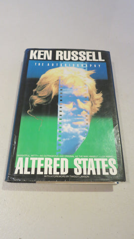 Altered States by Ken Russell, 1st Ed, HC DJ