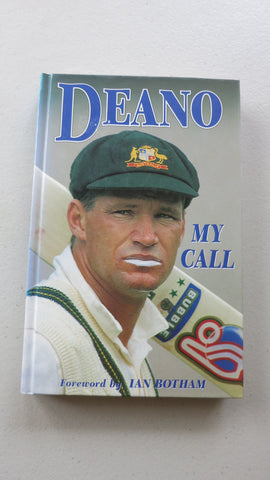 Deano: My Call by Dean Jones, SIGNED, 1st Ed, Australia Test Cricket, One Day