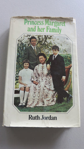 Princess Margaret and Her Family by Ruth Jordan, SIGNED, 1st Ed