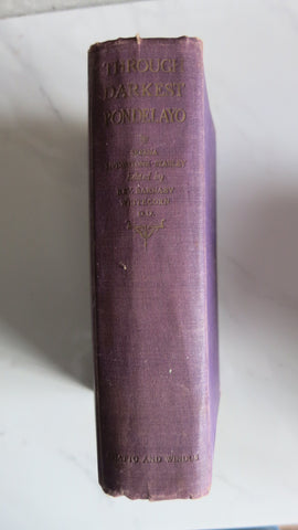 Through Darkest Pondelayo by Serena Livingstone-Stanley, 1st Ed, Joan Lindsay
