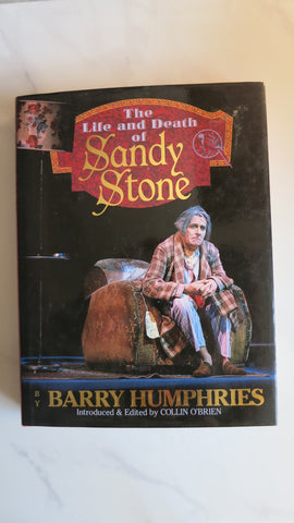 The Life and Death of Sandy Stone by Barry Humphries, 1st Ed, Large HC DJ