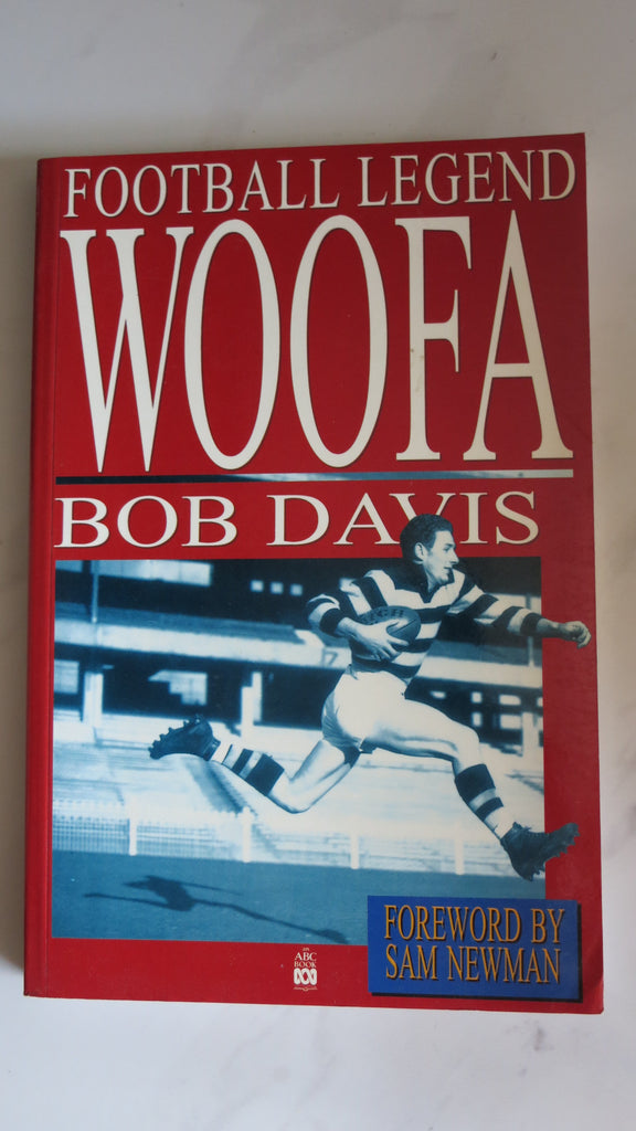 Woofa by Bob Davis, Football Legend, 1st Ed, Geelong Football Club, VFL AFL Cats