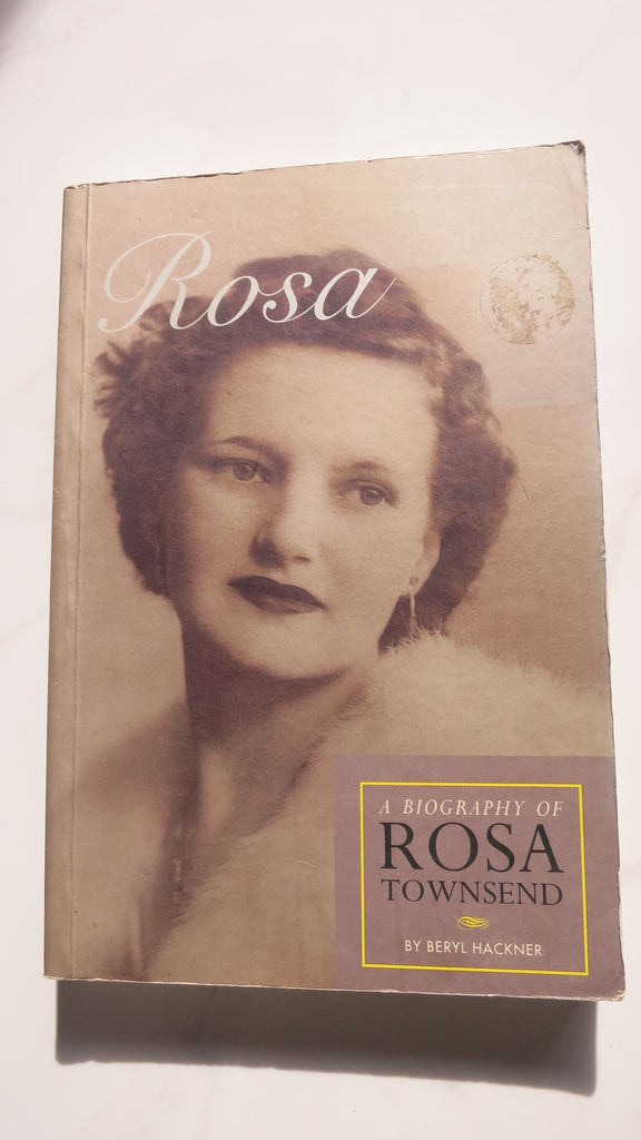 Rosa by Beryl Hackner, 1st Ed, Large Paperback, Townsend, Trade Union Movement