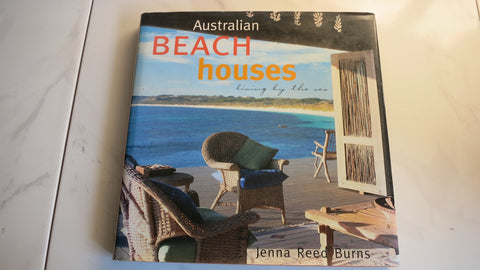 Australian Beach Houses by Jenna Reed Burns, 1st, Large HC DJ, Living by the Sea