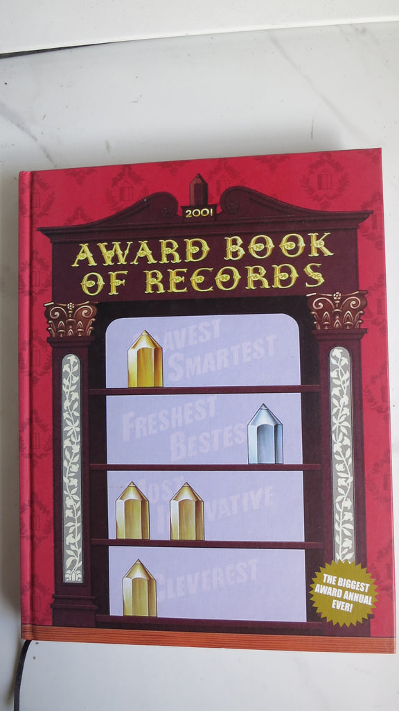 Award Book of Records 2001, Australasian Writers and Art Directors Association, Australian