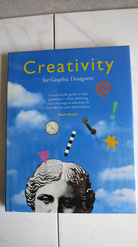 Creativity for Graphic Designers by Mark Oldach, Large HC DJ, Advertising Art