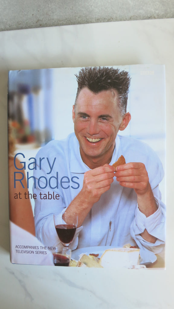 Gary Rhodes: At the Table by Gary Rhodes, SIGNED, 1st Ed, Large HC DJ